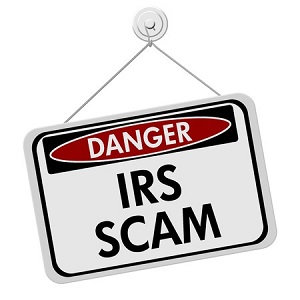 outtaspaceorganizing.com IRS Scam
